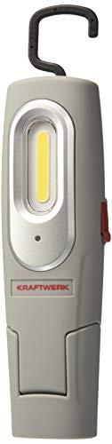 Kraftwerk 32032 2 + 1 W COB LED Linterna de Mano batería...