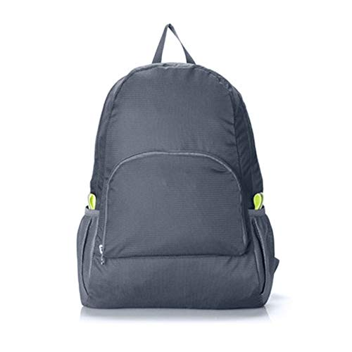 Ashley GAO Hiking Bag Rucksack Lightweight Foldable Waterproof Nylon Women Men Casual Skin Pack Backpack Travel Outdoor Sports Camping