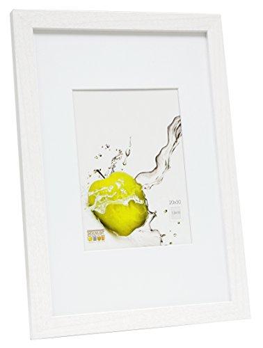 Deknudt Frames S66KF1 - P1 - Basic Cadre Photo Bois Blanc 20 x 30 cm