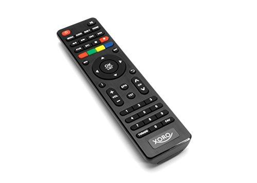 Xoro HRK 7670 TWIN DVB-C HD Kabelreceiver (HDTV TWIN Tuner, HDMI, USB PVR Ready, 12V) schwarz
