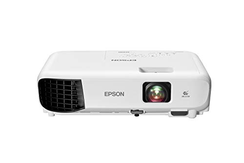 Epson EX3280 3-Chip 3LCD XGA Projector, 3,600 Lumens Color Brightness, 3,600 Lumens White Brightness, HDMI, Built-in Speaker, 15,000:1 Contrast Ratio