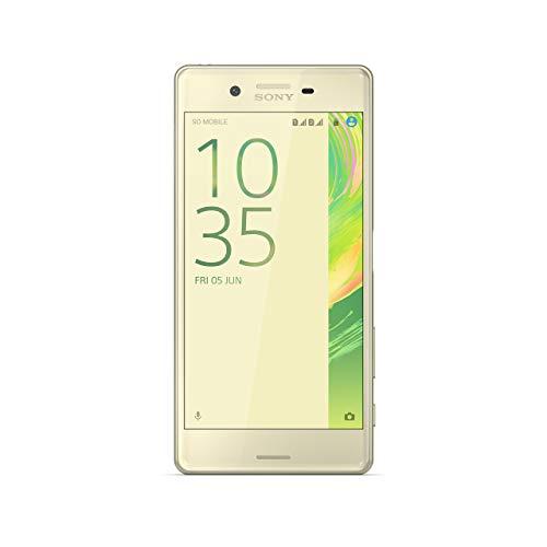 "Smartphone Sony Xperia X 5"" (4 g Wi-Fi Bluetooth Nano-Sim 64-bit Qualcomm Snapdragon 650 mémoire interne 32GB 3 Go de RAM appareil photo de 12 mégapixels Android) Vert"