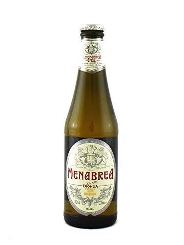 Cerveza rubia menabrea 24 x 33 cl