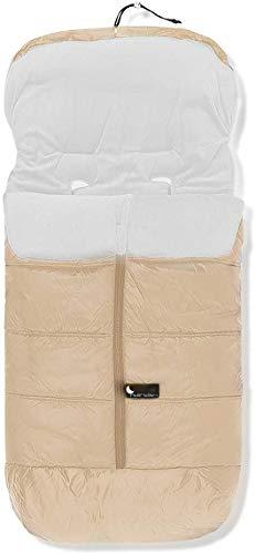 Danielstore- Saco Silla Paseo Polar Impermeable OFERTA (Varios modelos) (Beige liso)
