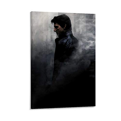 DRAGON VINES Póster de Misión Impossible Rogue Nation Ethan Hunt Tom Cruise Syndicate con impresión en alta definición para oficina, dormitorio, decoración de pared, 50 x 75 cm