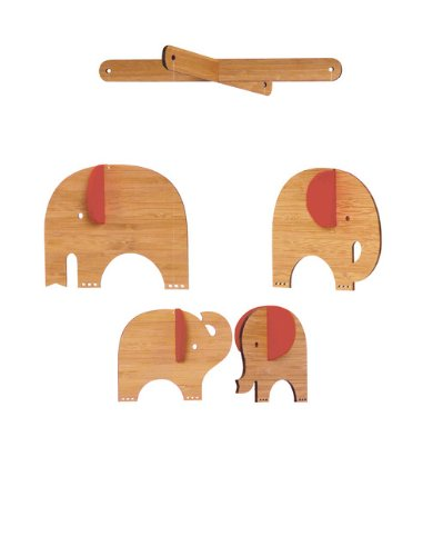 Petit Collage classique en bambou Mobile