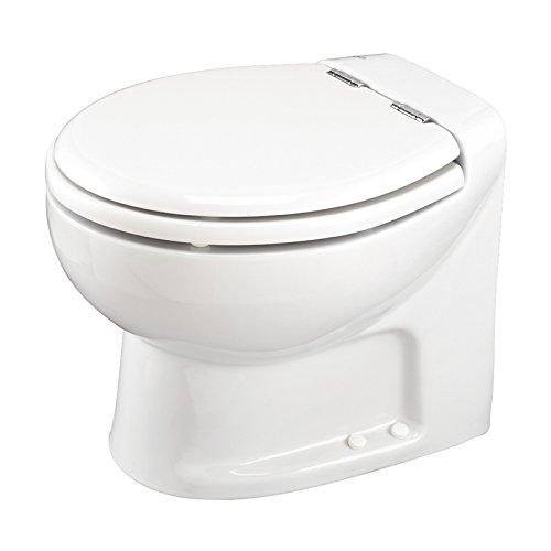 Thetford Tecma Silence Plus 38363 Toilettensitz mit Wasserpumpe, 2 Modi, 12 V, Weiß