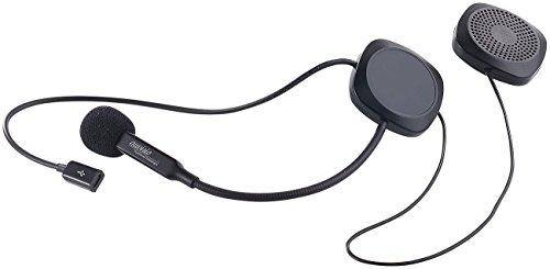 auvisio Motorrad Headset: Stereo-Headset mit Bluetooth 4.1 & Freisprecher für Motorradhelme (Headset Helm)