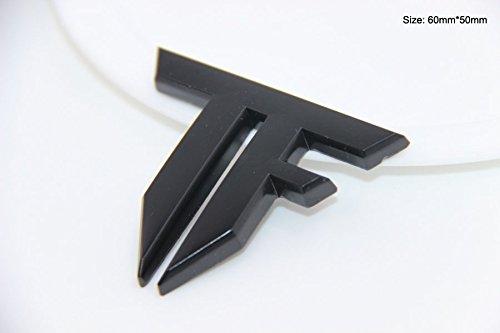 B194 Transformers Zeichen Schwarz auto aufkleber 3D Emblem Badge car Sticker Abziehbild