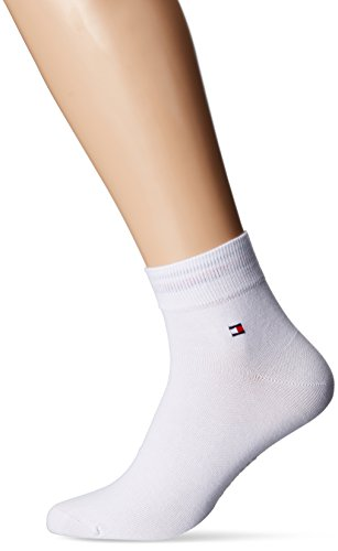 Tommy Hilfiger Herren TH MEN QUARTER 2P Sneakersocken 2 Paar, Weiß (White 300), 43/46