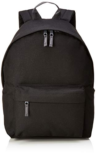 Bagbase Fashion Rucksack, 18 Liter One Size,Black