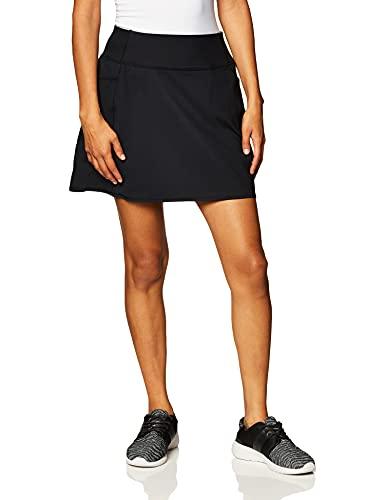 Skechers Women's Gowalk High Waisted Skort, Bold Black, Medium