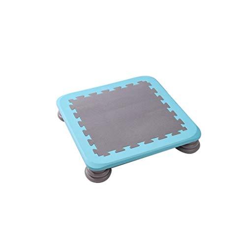 HAYN Trampolín con 4 pies -Door o al Aire Libre Trampolín para niños Adultos Juegos interactivos Toys Fitness Trampoline para Regalo (Color : A)