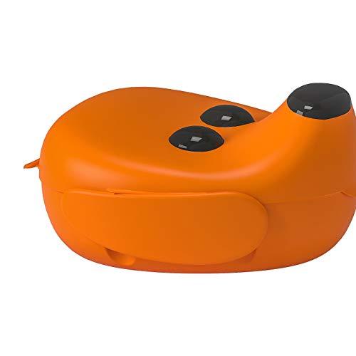 Brotdose, unschädlicher Kunststoff, Produktgröße (B x T x H): 17 x 18 x 10 cm, Material: Polypropylen-Kunststoff
