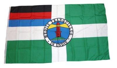 Flagge Fahne Insel Borkum 90 x 150 cm FLAGGENMAE®