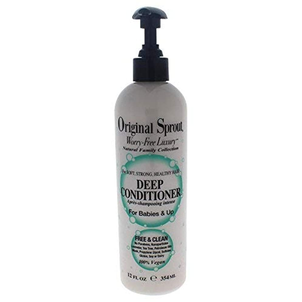 Original Sprout Deep Conditioner. Natural Moisturizing Conditioning Treatment for Natural Hair Care. 12 oz
