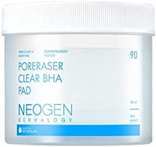 [NEOGENLAP] Poreraser Clear BHA Pad 160ml 90EA - Pore Clear & Purifying