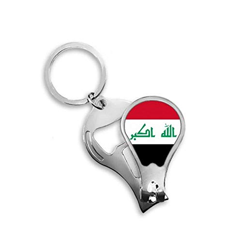 DIYthinker Irak nationale vlag Azië land Toenail Clipper Cutter