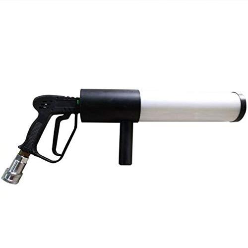 WANGIRL Feuerwerk-Maschine Handheld Nebel Maschine Aufladen Und Manuelle Steuerung mit LED Stage Effect CO2 Jet Manuelle Steuerung Winkel Nebelrauch Bühnen Spezialeffekt Maker DJ-Event Bühne