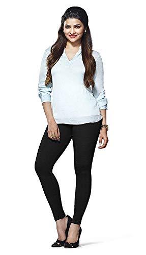 Lux Lyra_Women's Cotton Chudidar Legging_MF13_Black_Freesize