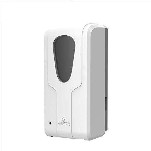 YYSU Automatic Soap Dispenser, 1000ML Sensor Gel Foam Soap Dispenser Rust-Free Automatic Touchless Pump Shampoo Shower Gel Lotion Bathroom Container Kitchen Hotel Restaurant (Color : White-Liquid)