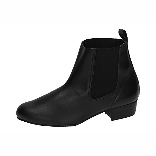 MADE IN SPAIN 21 BOTÍN Baile Flamenco NIÑO Botas-Botines Negro 38