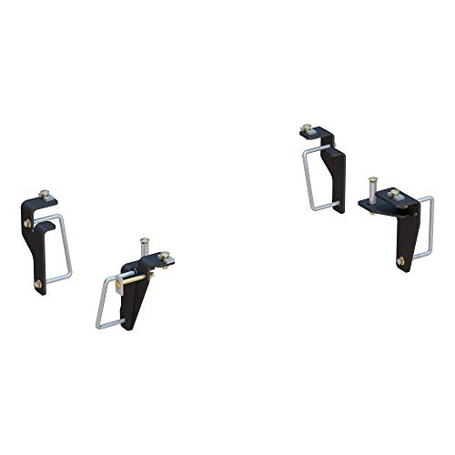 CURT 16426 5th Wheel Installation Brackets Black Select Ram 2500, 3500