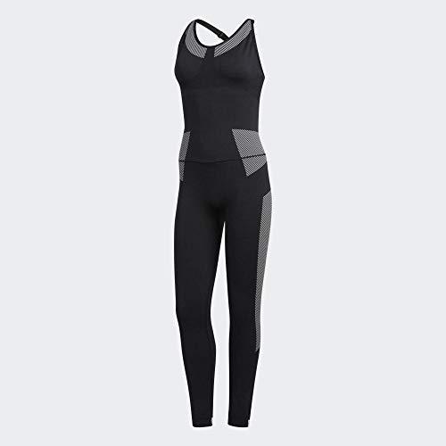 adidas PK FLW Onesie Tights und Bodies, Damen L schwarz/weiß