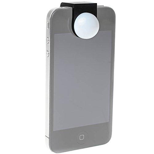 Luxi for All Kalottendiffusor als Belichtungsmesser für Smartphones und Tablets mit iOS