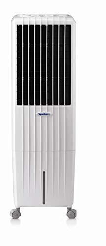 Symphony Diet Climatizador evaporativo, 170 W, 35 litros, 65 Decibelios, Plástico, 3 Velocidades, Blanco