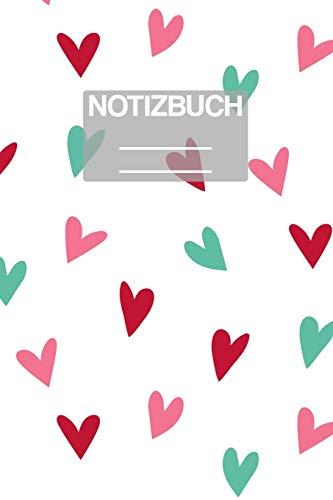 Notizbuch A5 Muster Herzen Herz Zeichnunh Stift: • 111 Seiten  • EXTRA Kalender 2020 •  Einzigartig •  Dotgrid •  Dotted •  Punktraster  • Geschenk • Geschenkidee