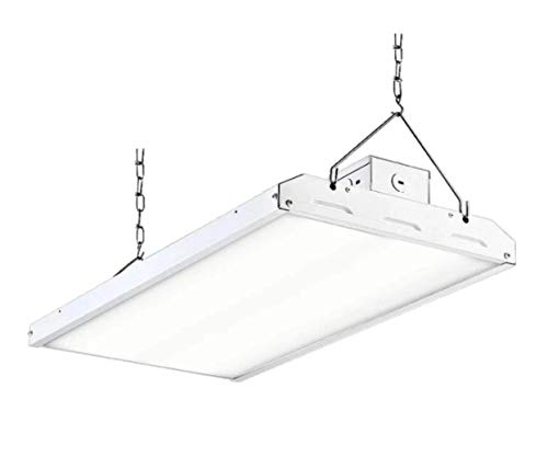 Light in Depot 2ft 110w Commercial LED Linear Bay Light 5000K (250w /400w MH Equal) Shop Light, AC 120-277v, Warehouse Aisle Area Light, Garage, 0-10V Dimming, UL/DLC Complied (110w, 1 Pack)