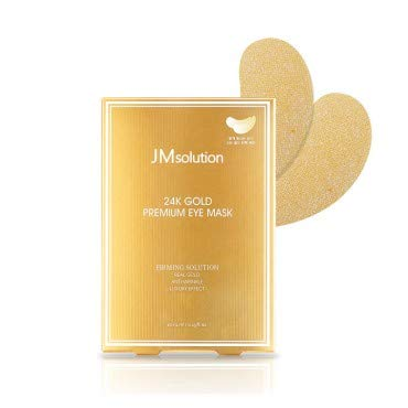 JM Solution 24k Gold Premium Eye Mask, 4ml x10pcs