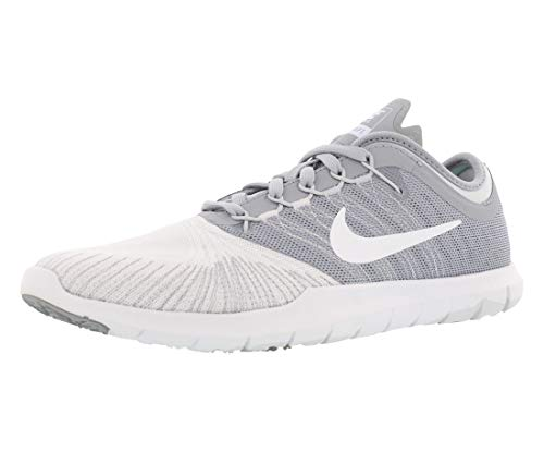 Nike Womens Flex Adapt Tr Running Trainers 831579 Sneakers Shoes (UK 4.5 US 7 EU 38, Pure Platinum Black White Volt 002)