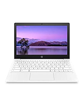 HP Chromebook 11-inch Laptop - Up to 15 Hour Battery Life - MediaTek - MT8183 - 4 GB RAM - 32 GB eMMC Storage - 11.6-inch HD Display - with Chrome OS -  11a-na0021nr 2020 Model Snow White