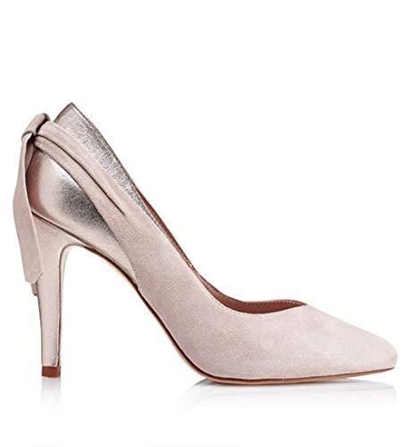 Zapato de tacón Daniela Novia - 39, Nude