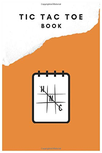 Are You on a boring family trip? Or You don't know what to do to kill some extra time? Let's play Tic Tac Toe! This notebook with 110 pages full of TIc Tac Toe bands will help You immediately!
