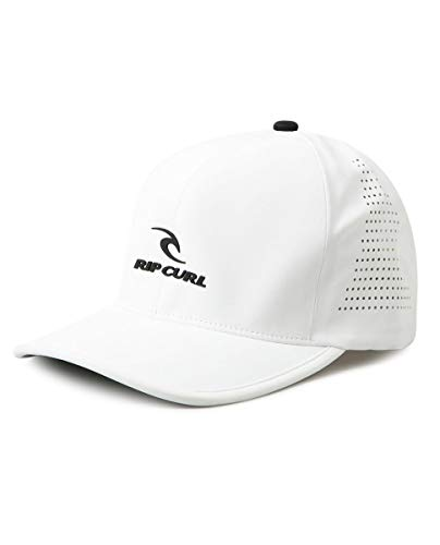 Rip Curl Covert Delta Flexfit Black Hat, Men's Snapback Trucker Hat