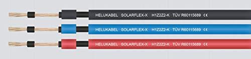 Helukabel Solarkabel 6mm² 50m EN50618 H1Z2Z2-K blau, Farbe:Balu