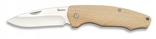 Couteau de Bois Albainox, Lame de 7,5 cm en Acier Inoxydable Boîte à Couleur, conçue en Espagne, Plusieurs modèles, 19875