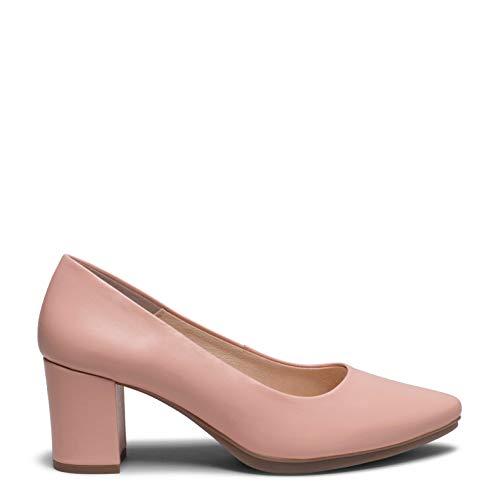 Zapatos miMaO. Zapatos de Piel Hechos EN ESPAÑA. Zapatos Tacón 6cm. Zapatos de Piel Mujer cómodos con Plantilla Piel Gota Ultra Confort Gel