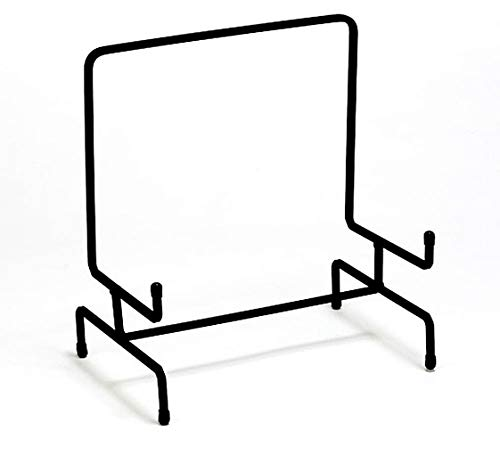 Tripar Large Black Metal Display Stand Easel for Bowl and Platters, Cookbooks, Pictures, Deep Dishes
