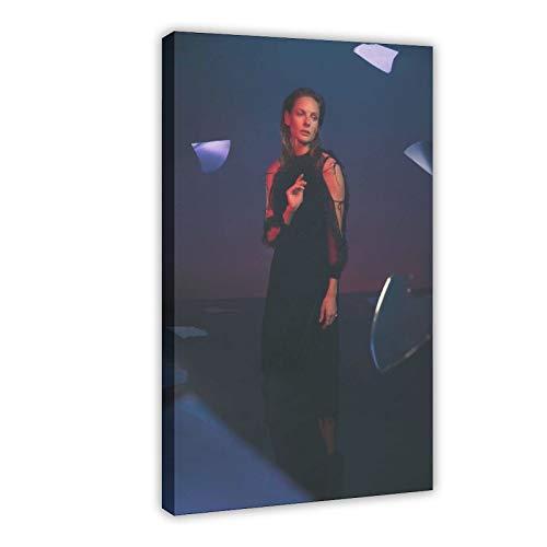 Rebecca Ferguson - Poster su tela con film e televisione svedese Rebecca Ferguson, 12 pezzi, decorazione da parete per soggiorno, camera da letto, 60 x 90 cm