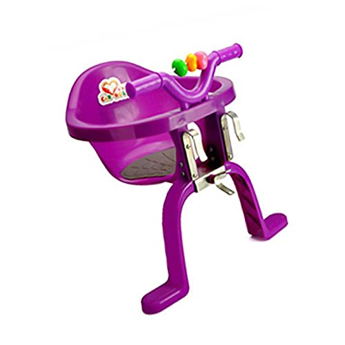 litulituhallo Montado de la bici del niño de plástico que cuelga las sillas de los bebés del frente de
