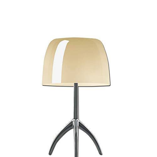 foscarini–lámpara de mesa foscarini Lumiere 05Grande–Aluminio/Blanco cálido