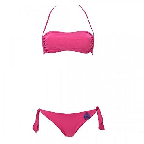 Frankie Morello Bikini Sexywaer Beachwear Model BF4 Fuxia Magenta Größe S