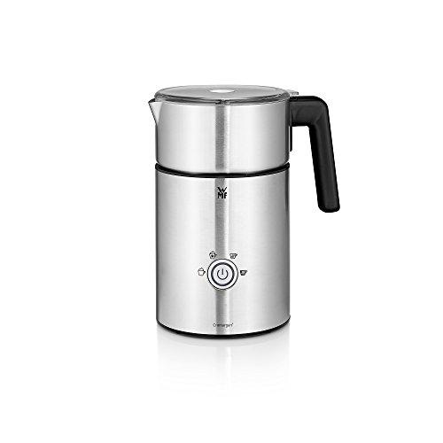 WMF Espumador Milk&Choc, 650 W, con 4 funciones, libre de BPA, acero de Cromargan, apto para lavavajillas, para capuccino,...