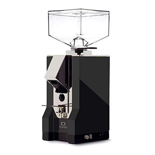 Eureka | Mignon Silenzio | Schwarz Matt | Kaffeemühle | Chrom-Auslauf