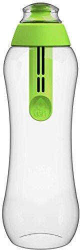 Bouteille filtre sport vert DAFI 500 ml