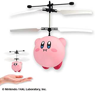 SK Japan Kirby's Dream Land Kirby Flying Hovering Helicopter Figure (Mat Type)